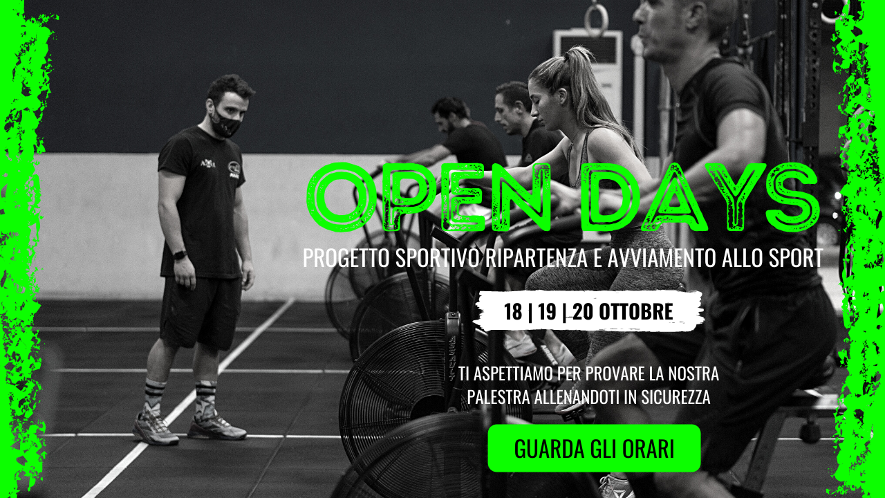 Open days banner